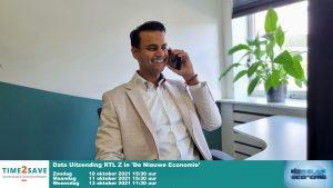 Time2Save is te zien op RTL Z in 'De Nieuwe Economie' 10 oktober 2021